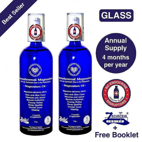 Transdermal Magnesium Oil - Annual Supply