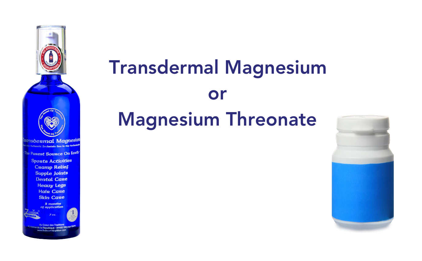Transdermal Magnesium or Magnesium Threonate